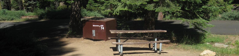 Site 74, Partial Shade