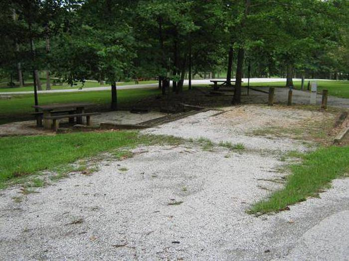 Choctaw Lake Campground Site - 18