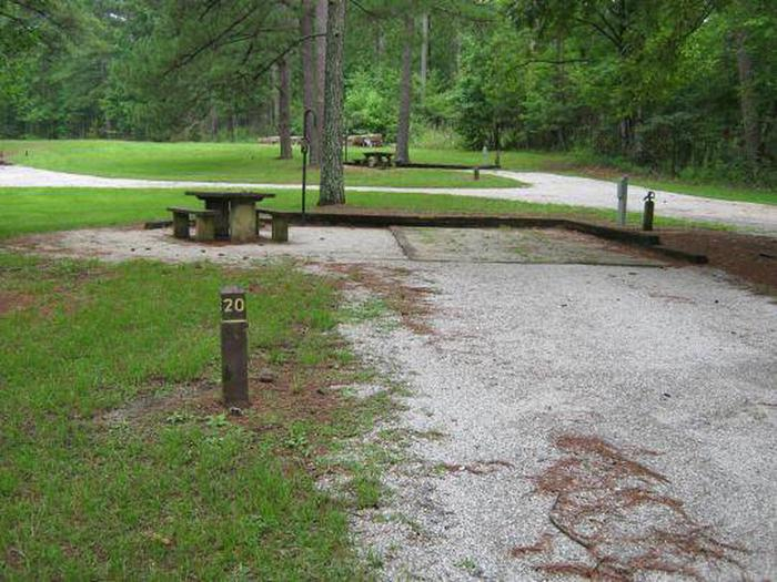 Choctaw Lake Campground Site - 20Choctaw Lake Campground - 20