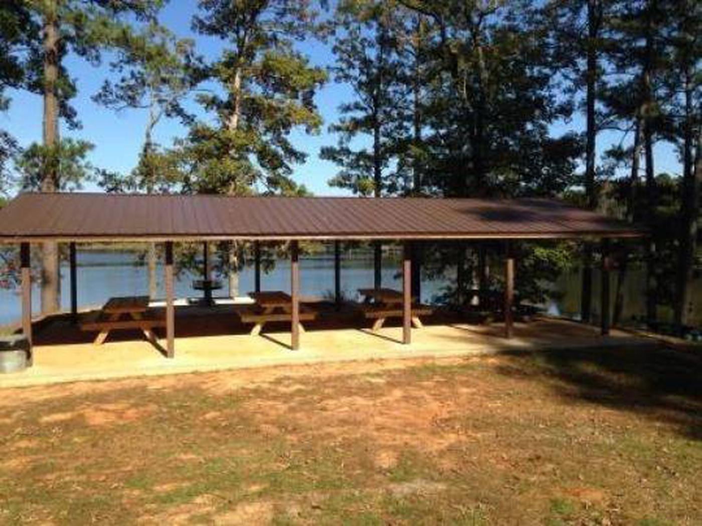 Choctaw Lake Recreation Area Shelter 2 Choctaw Lake Recreation Area Shelter 2