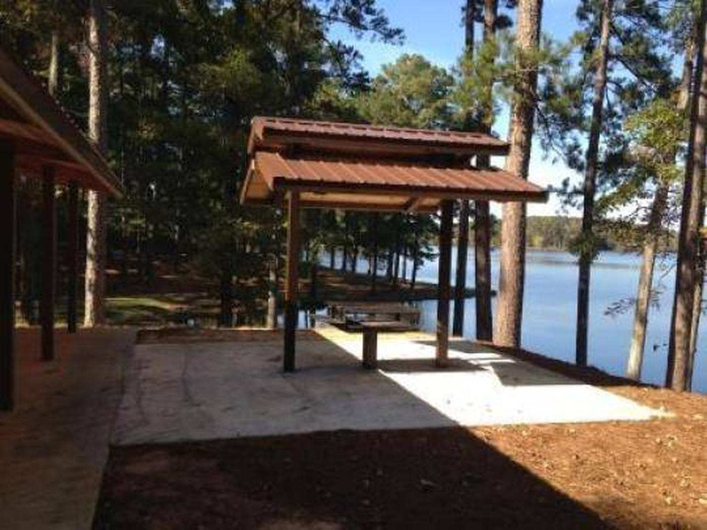 Choctaw Lake Recreation Area Shelter 3