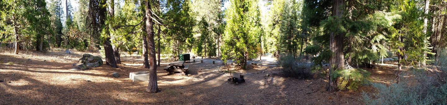 French Meadows Campsite 3