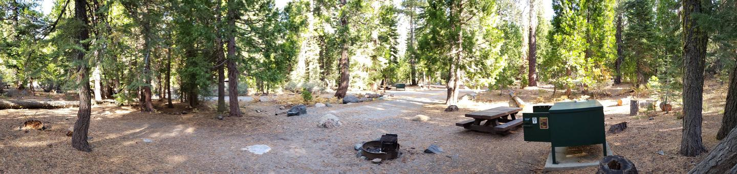French Meadows Campsite 4