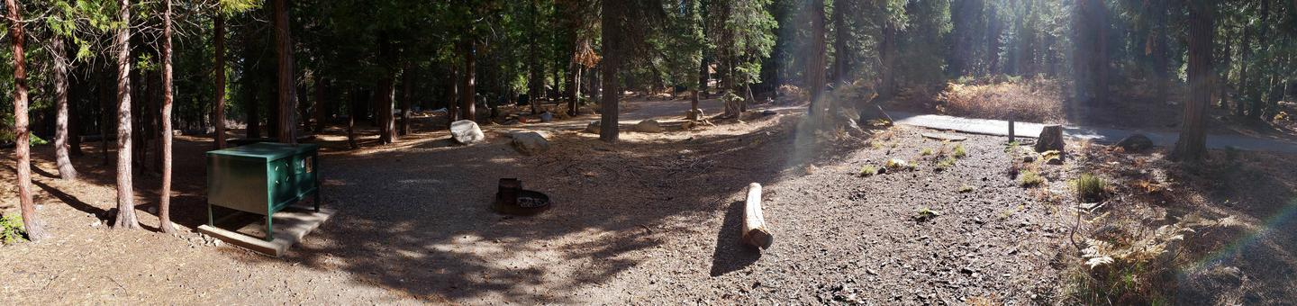 French Meadows Campsite 7