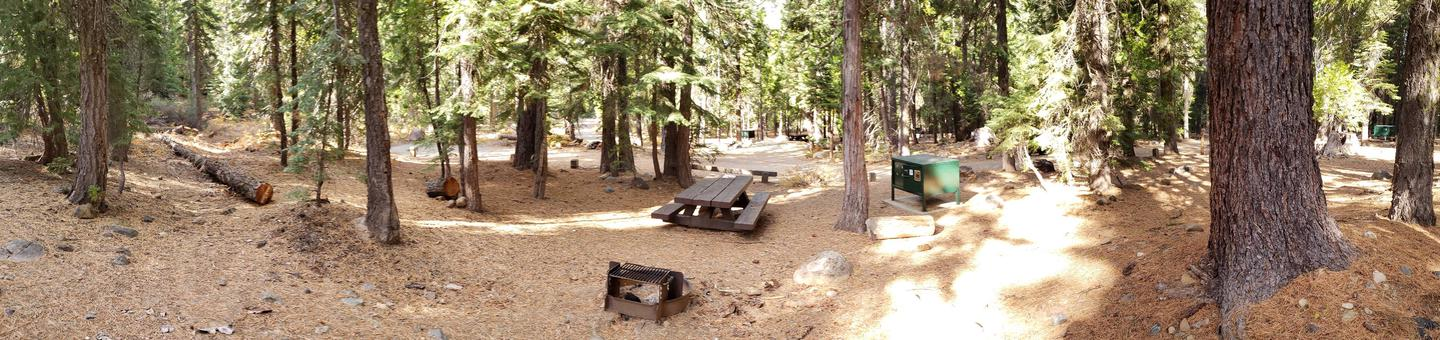 French Meadows Campsite 8