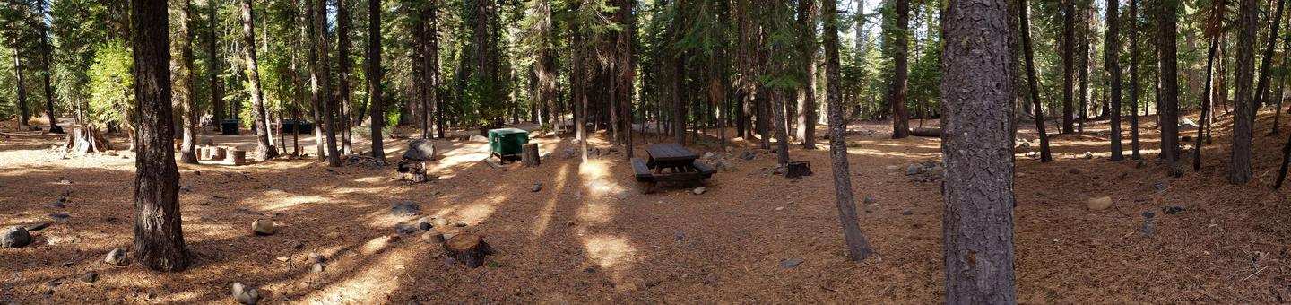 French Meadows Campsite 9