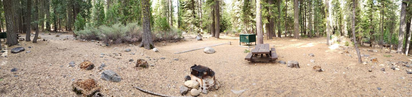 French Meadows Campsite 11