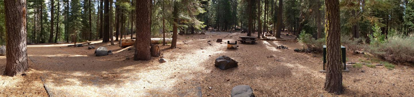 French Meadows Campsite 13
