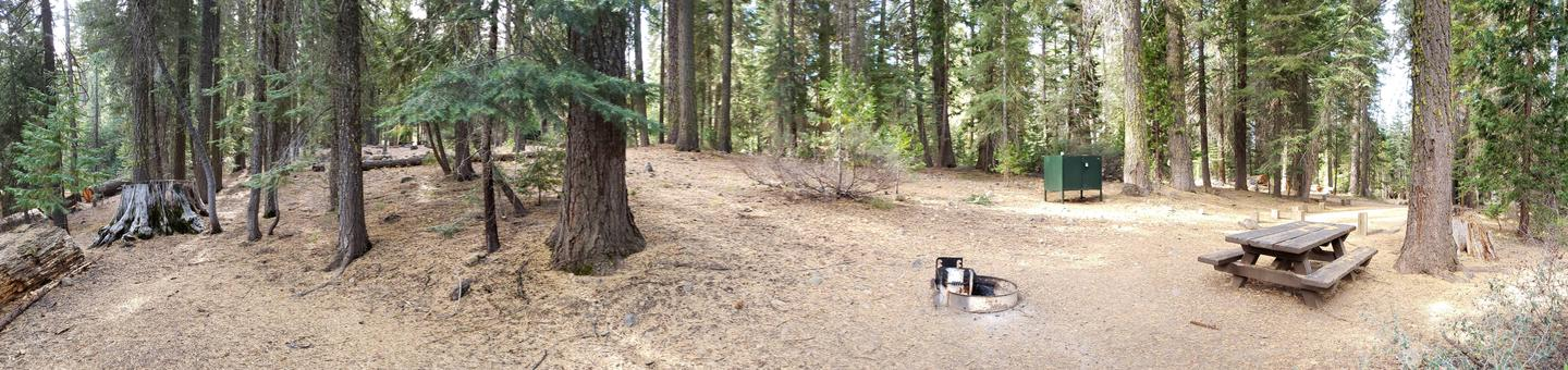 French Meadows Campsite 15