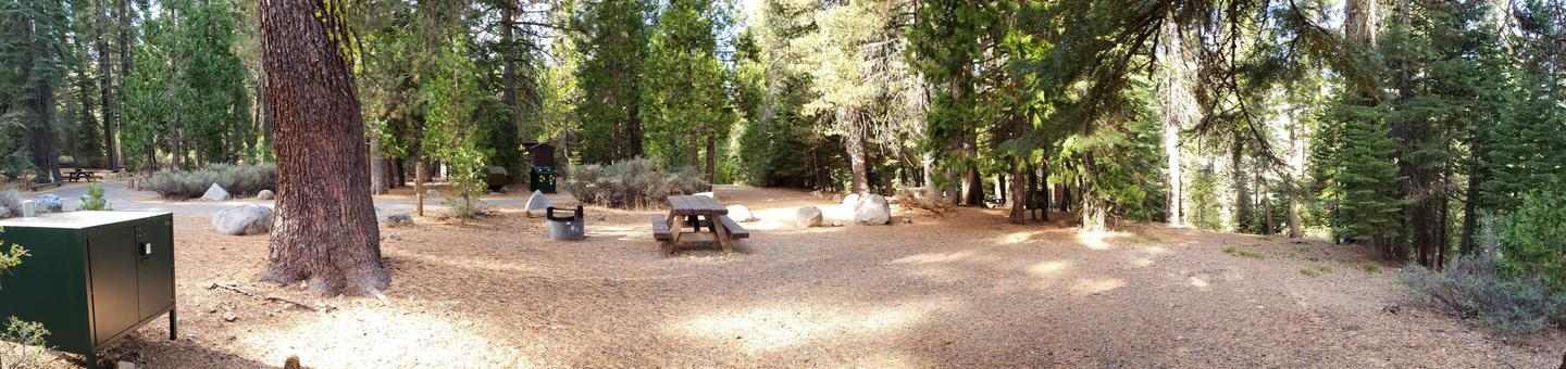 French Meadows Campsite 18