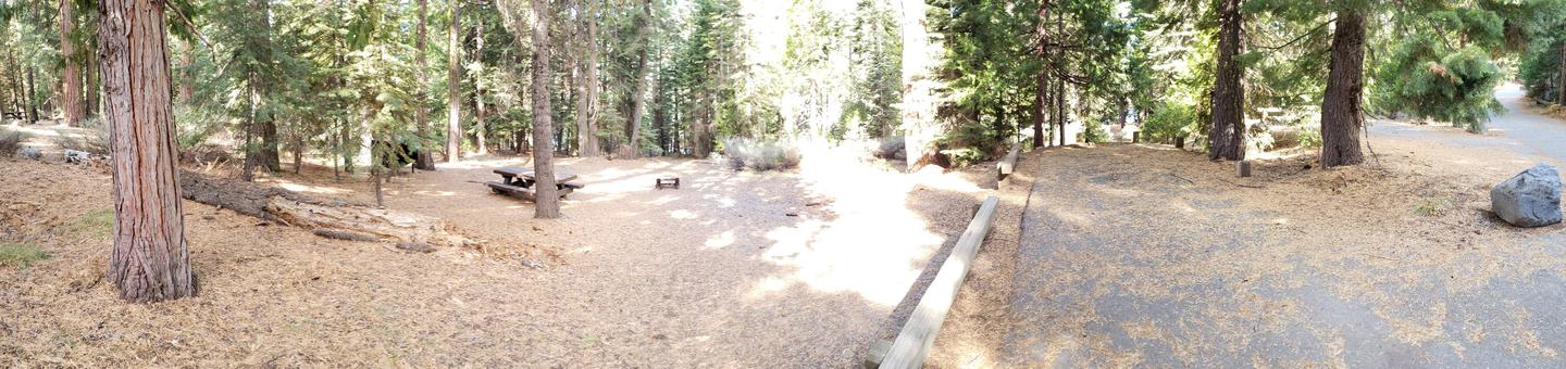 French Meadows Campsite 22