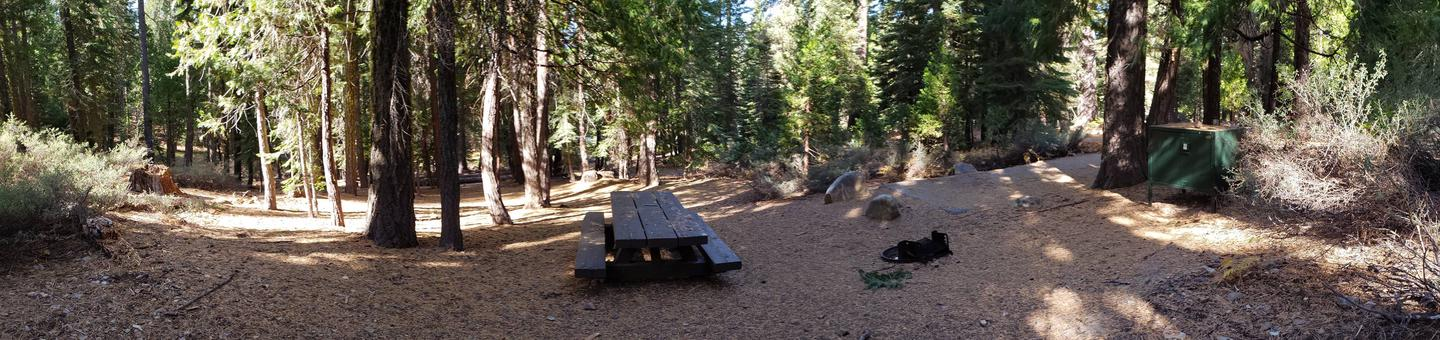 French Meadows Campsite 24