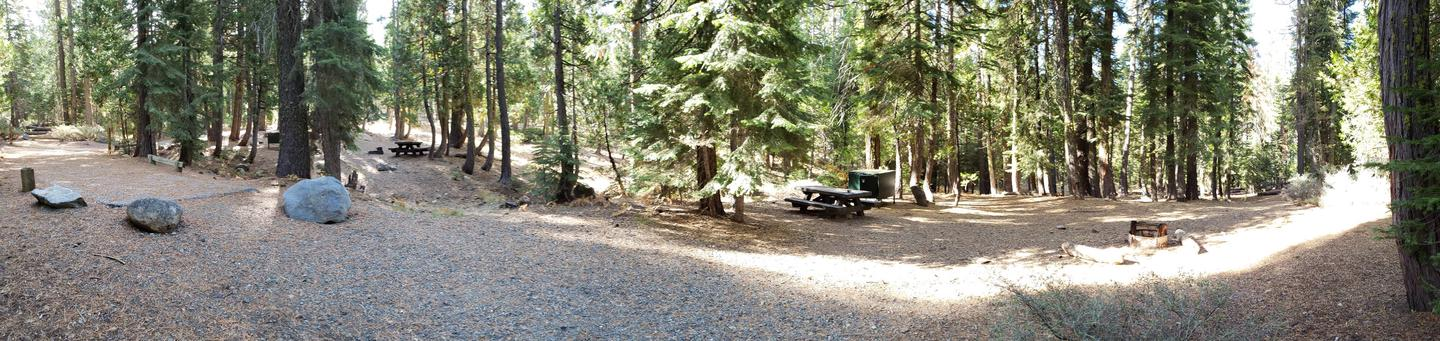French Meadows Campsite 27