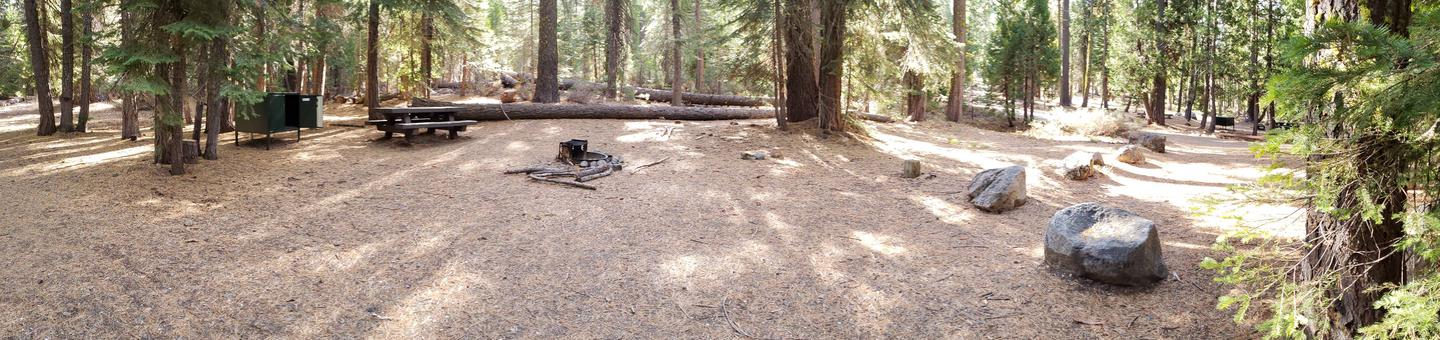French Meadows Campsite 28