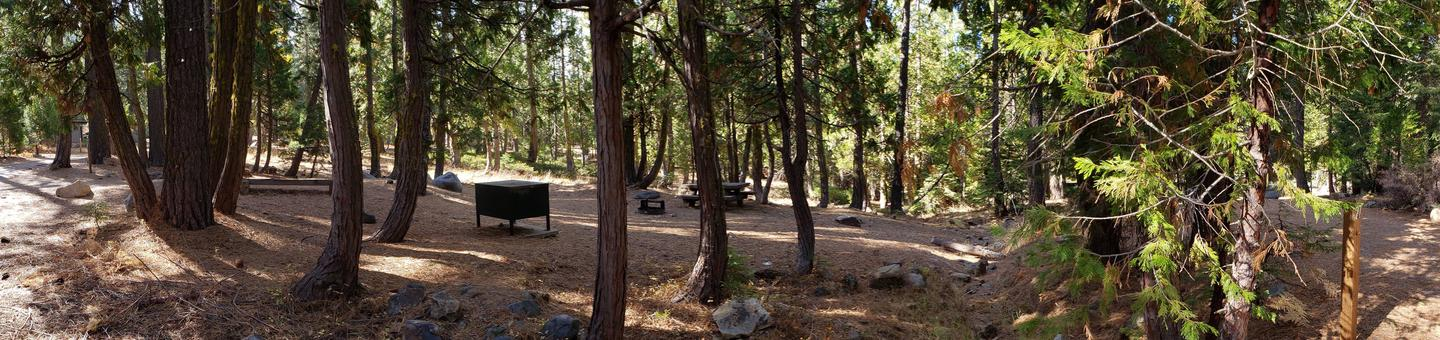 French Meadows Campsite 29