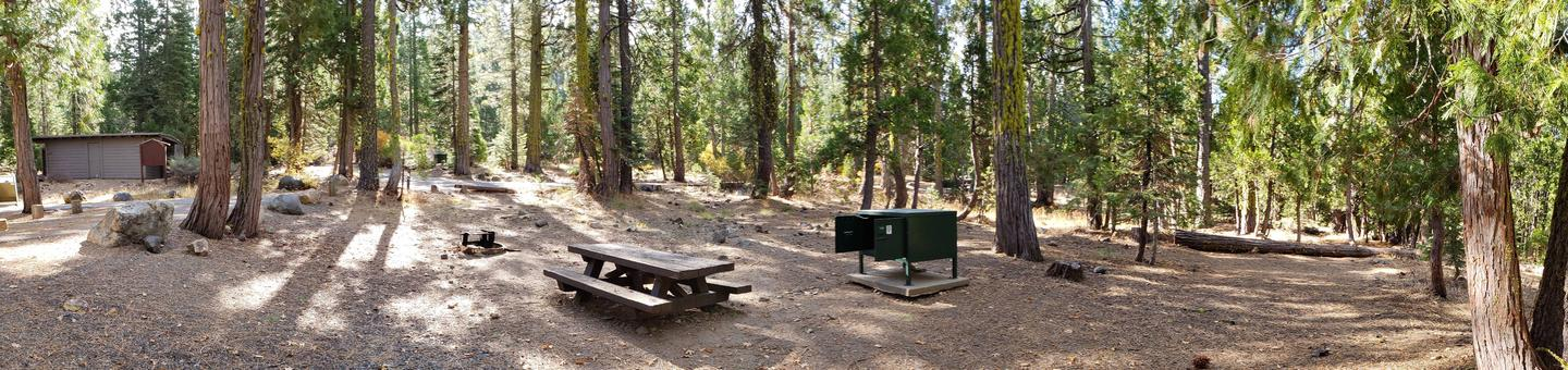 French Meadows Campsite 31
