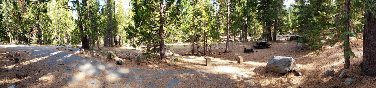 French Meadows Campsite 33