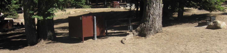 Site 81, no generator loop, partial shade