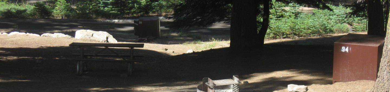 site 94, no generator loop, partial shade