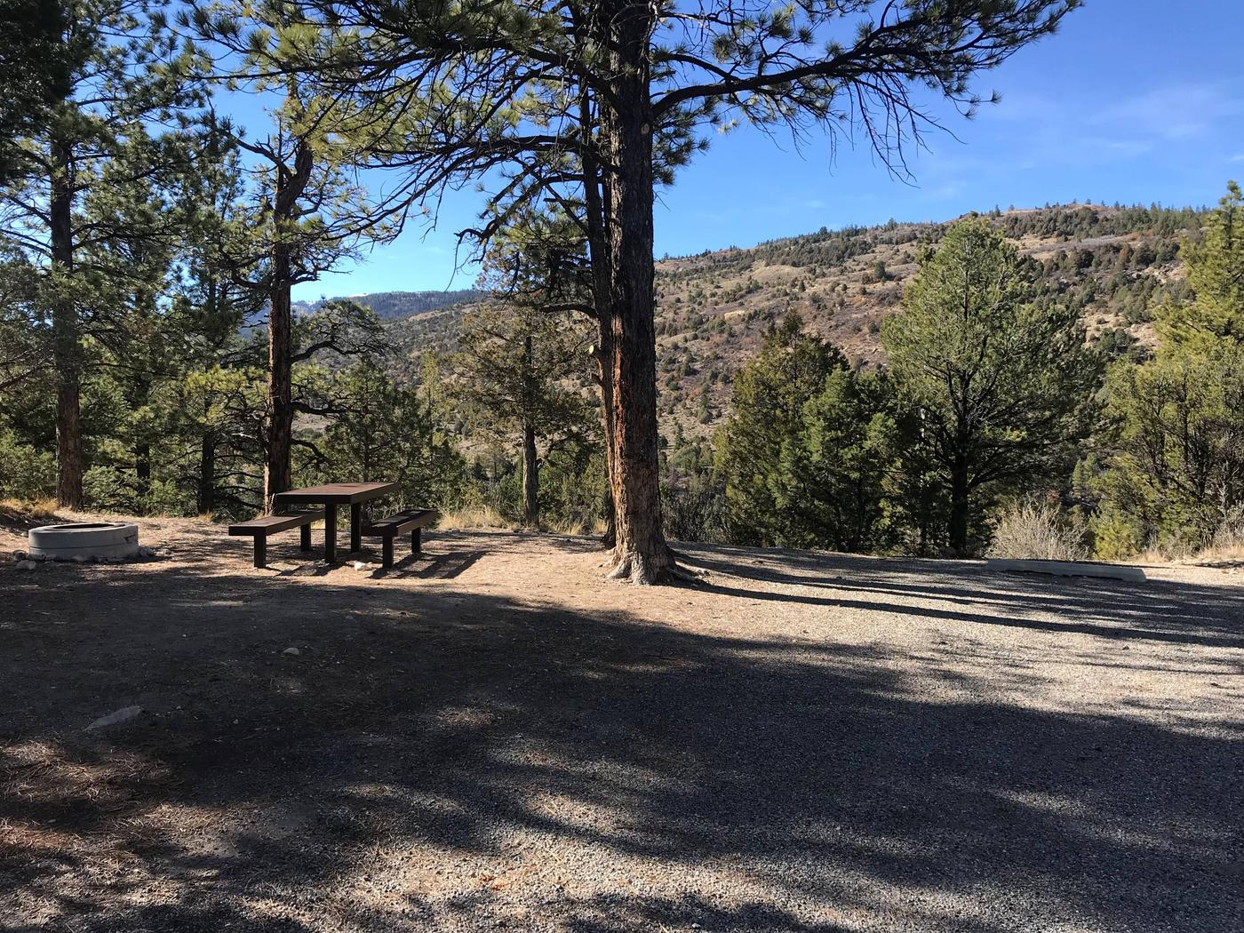 Joes Valley Campground Site 9