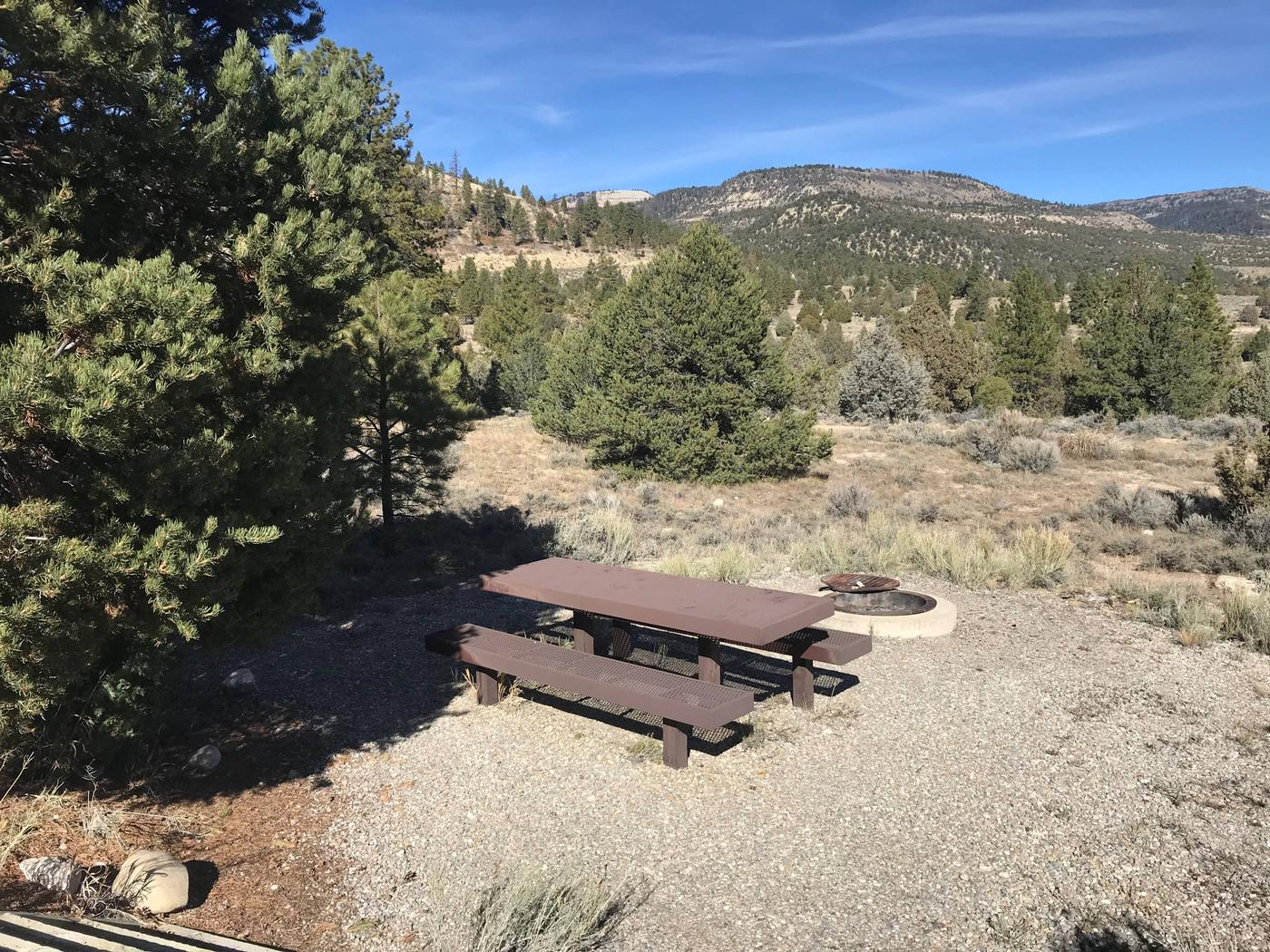 Joes Valley Campground Site 12