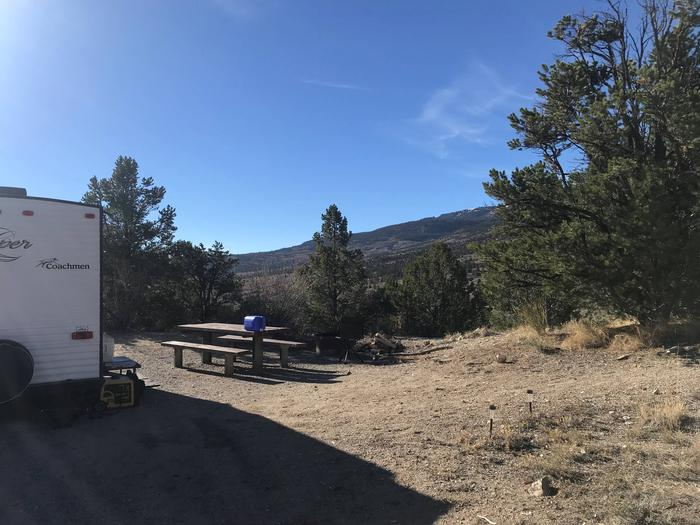 Joes Valley Campground Site 14