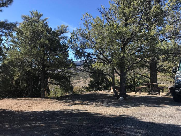 Joes Valley Campground Site 16