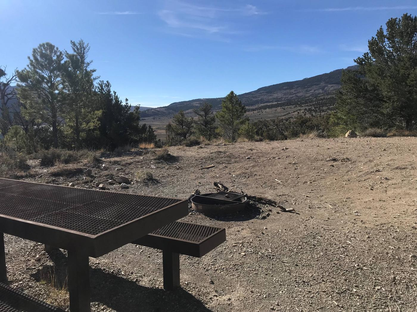 Joes Valley Campground Site 17