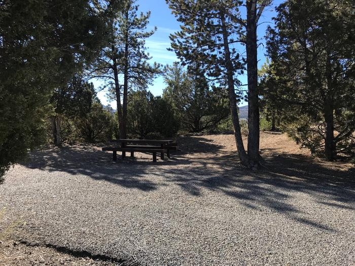 Joes Valley Campground Site 19