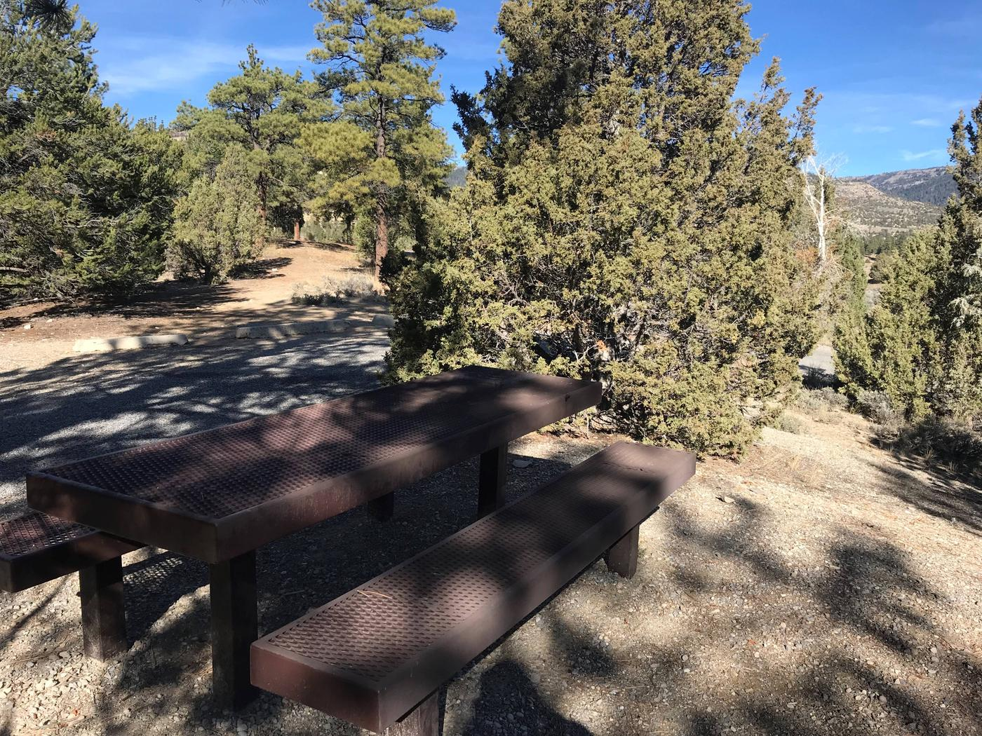 Joes Valley Campground Site 21