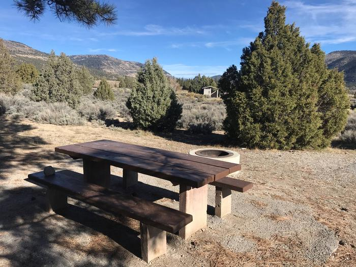 Joes Valley Campground Site 22