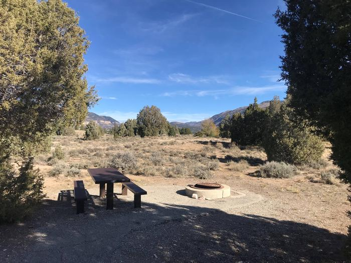 Joes Valley Campground Site 26