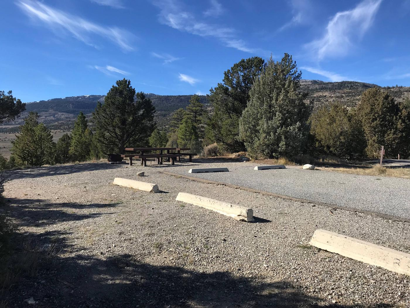Joes Valley Campground Site 27