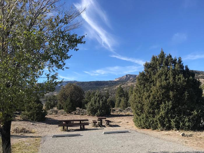 Joes Valley Campground Site 31
