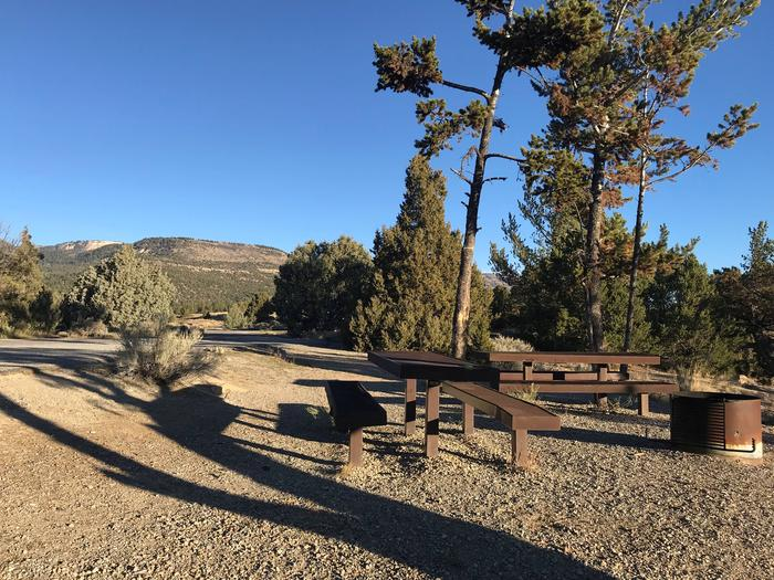 Joes Valley Reservoir Campground Site 29