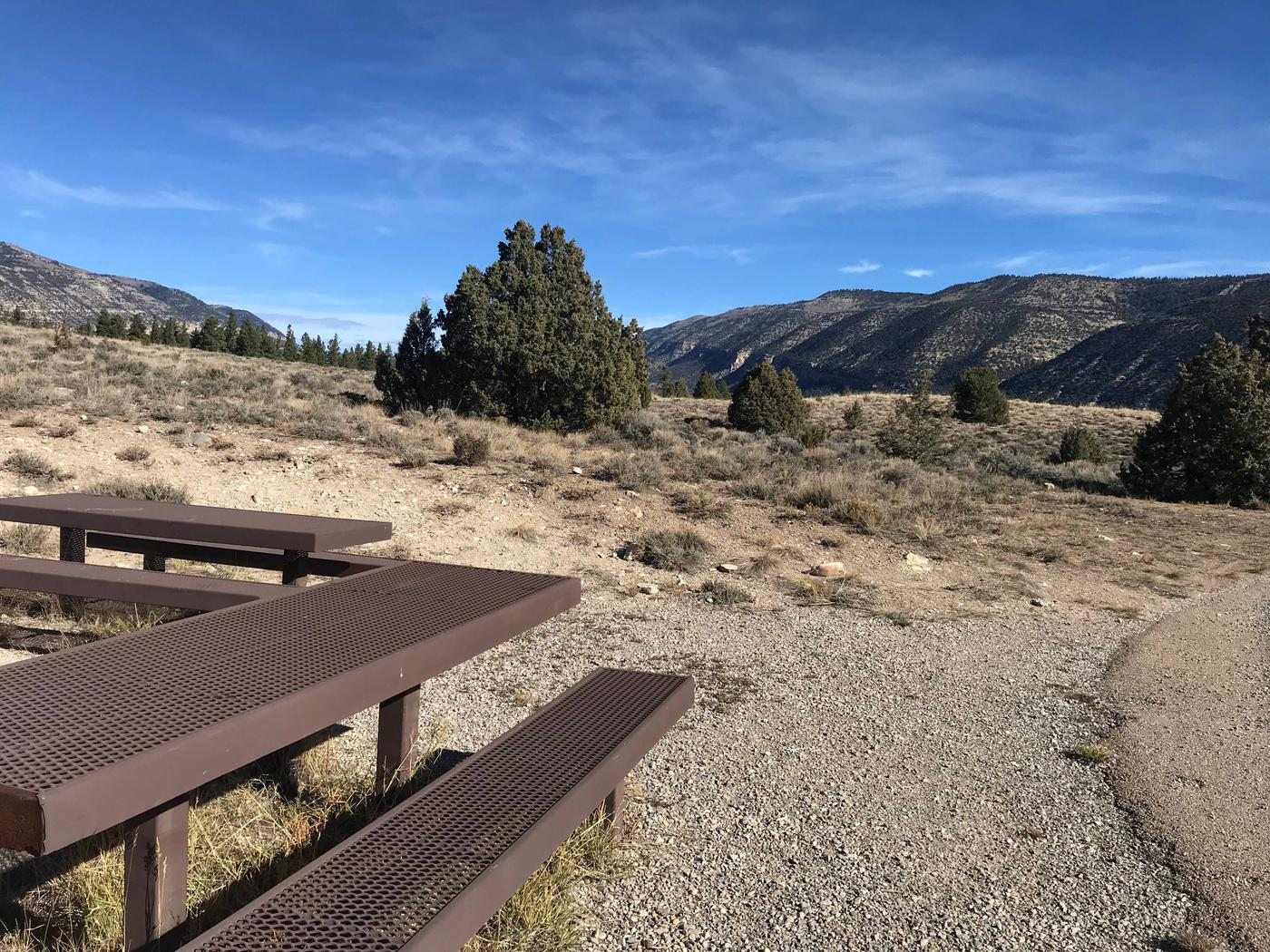 Joes Valley Reservoir Campground Site 36