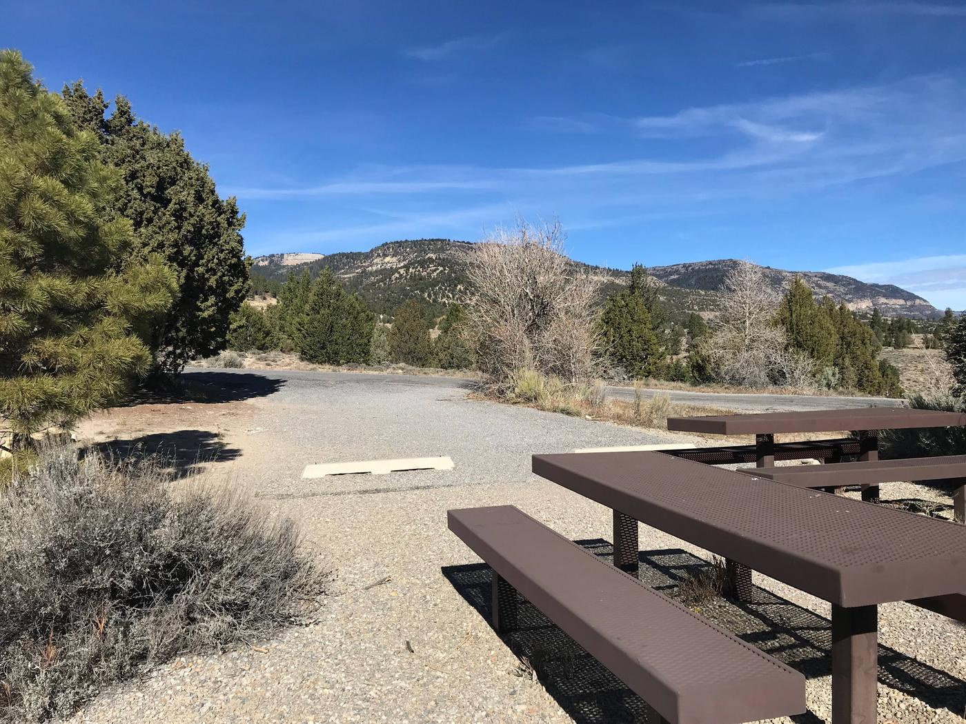 Joes Valley Reservoir Campground Site 48