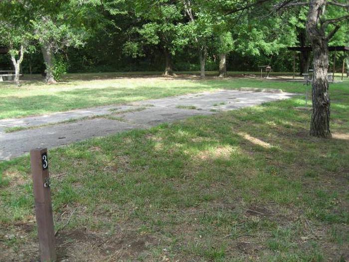 PavedBear Creek Campsite #3
