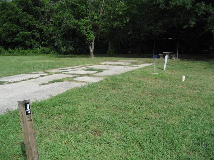 PavedBear Creek Campsite #4