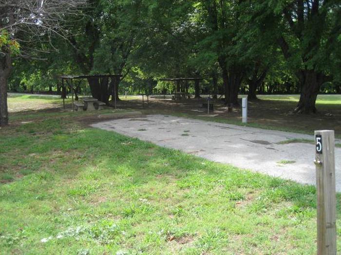 PavedBear Creek Campsite #5