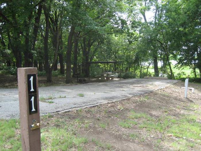 Bear Creek Campsite #11