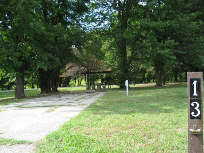 Bear Creek Campsite #13