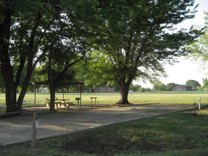 Coon Creek Campsite #6