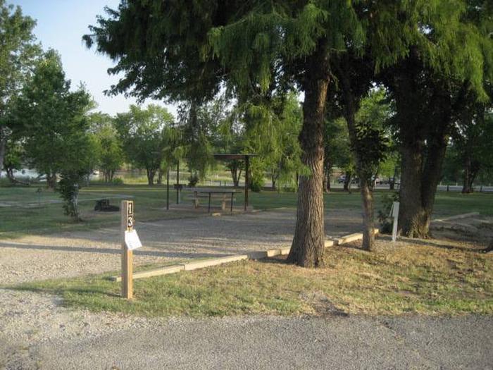 Coon Creek Campsite #13