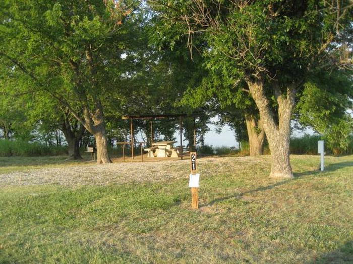Coon Creek Campsite #21