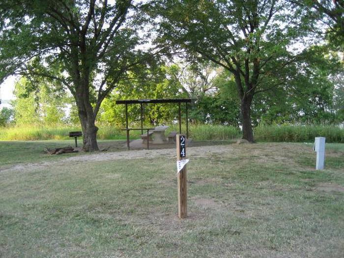 Coon Creek Campsite #24