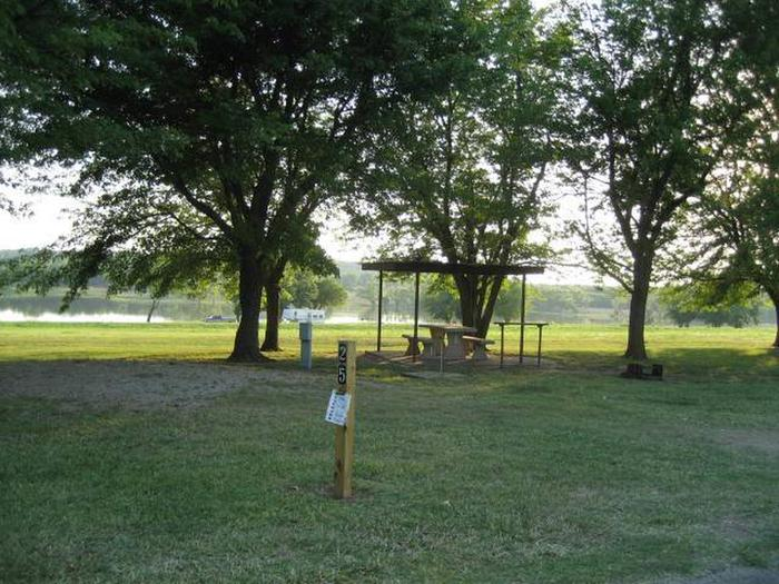 Coon Creek Campsite #25