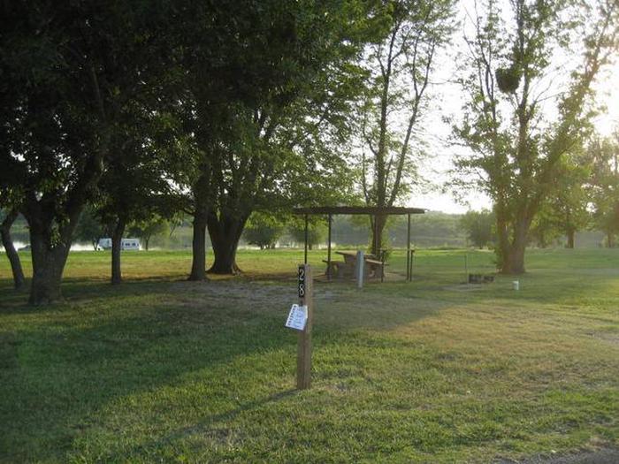 Coon Creek Campsite #28