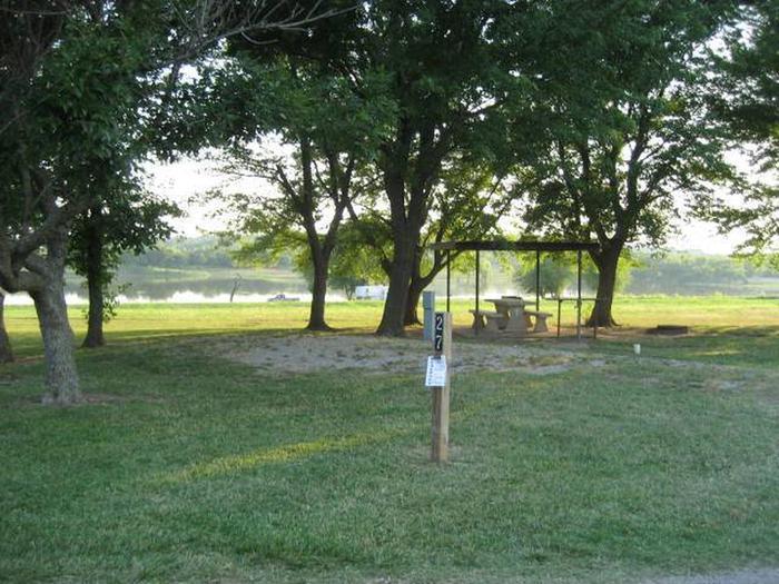 Coon Creek Campsite #27