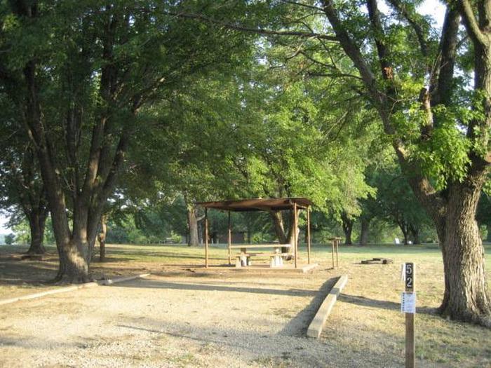 Coon Creek Campsite #51